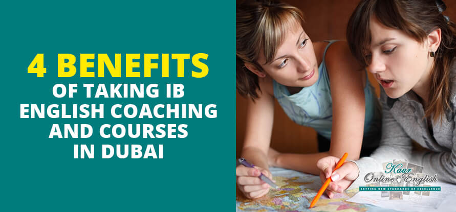 IB English Coaching and Courses in Dubai