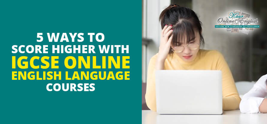 IGCSE Online English Language Courses