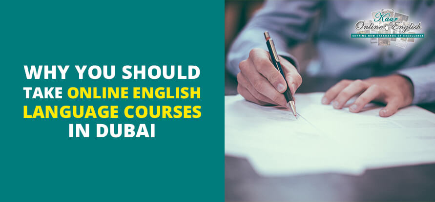 Online English Language Courses in Dubai